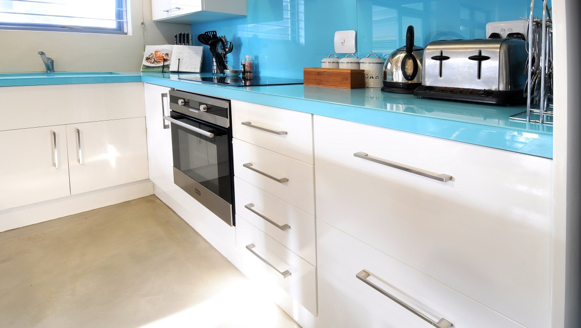 Funky kitchen tops, with attention to detail