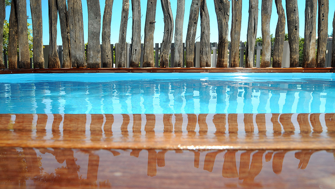 Our delightful, crystal clear swimming pool