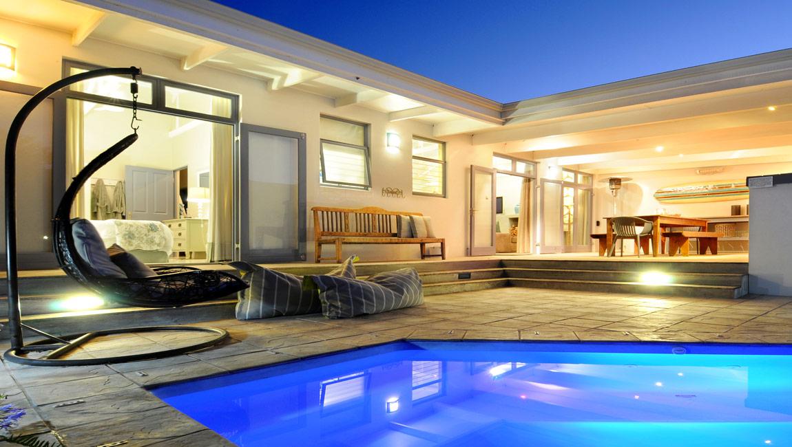 Driftwood modern beach house